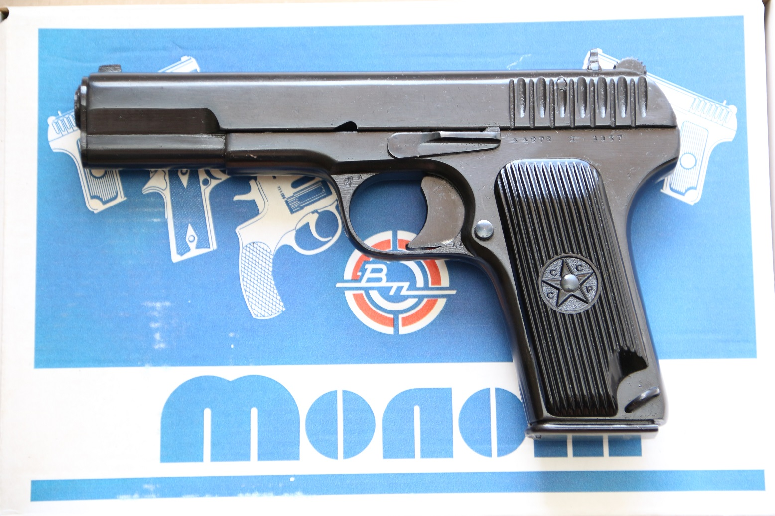 Фото Сигнальный пистолет ТТ-С 1937 года №44876