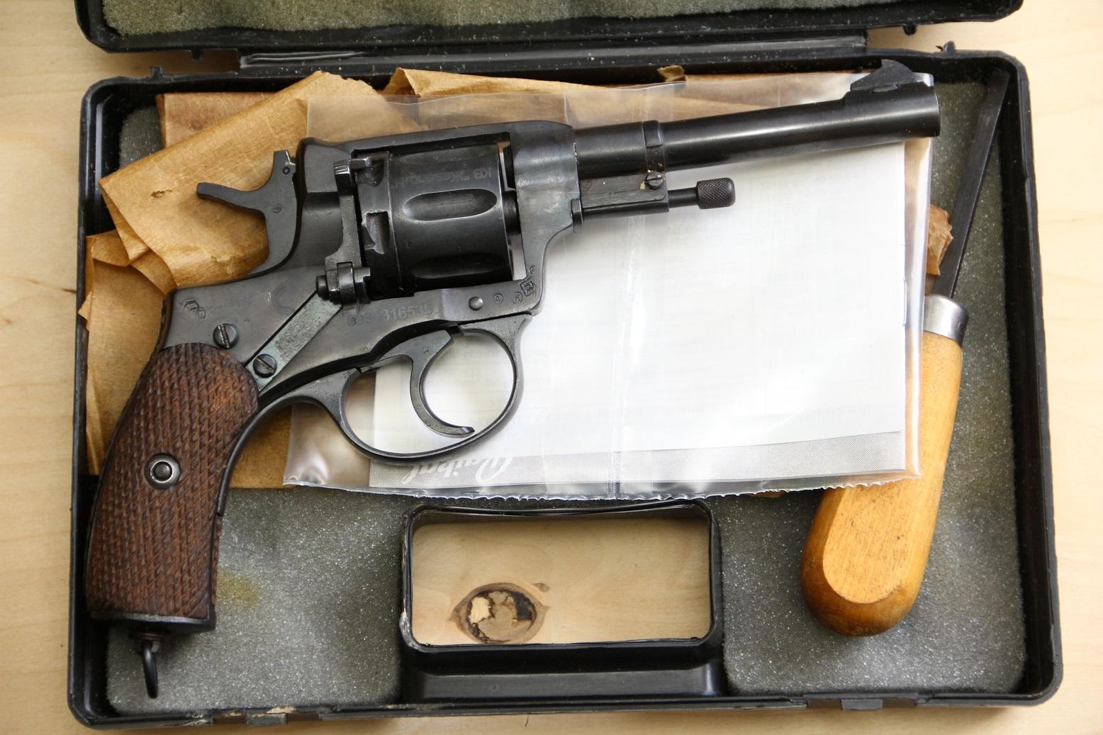 Сигнальный револьвер Наган МР-313, 1944 год, №0931316535