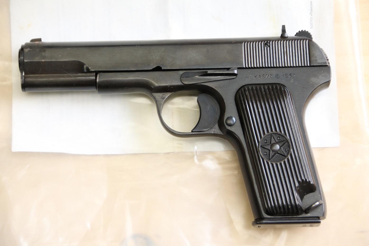 Пистолет ТТ-УЧ Молот Армз, 1953 год, №СК4973