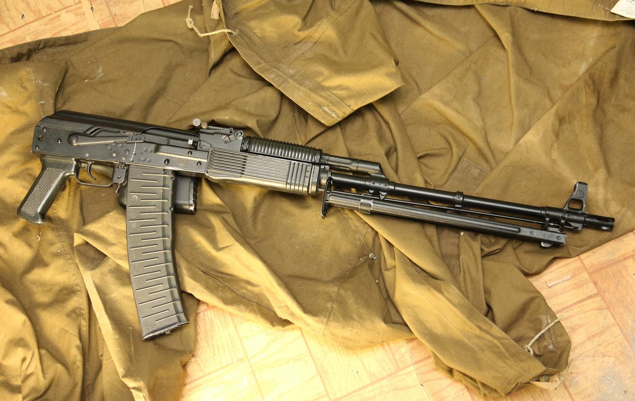 Фото Ручной пулемет Калашникова РПК-74, калибр 5.56