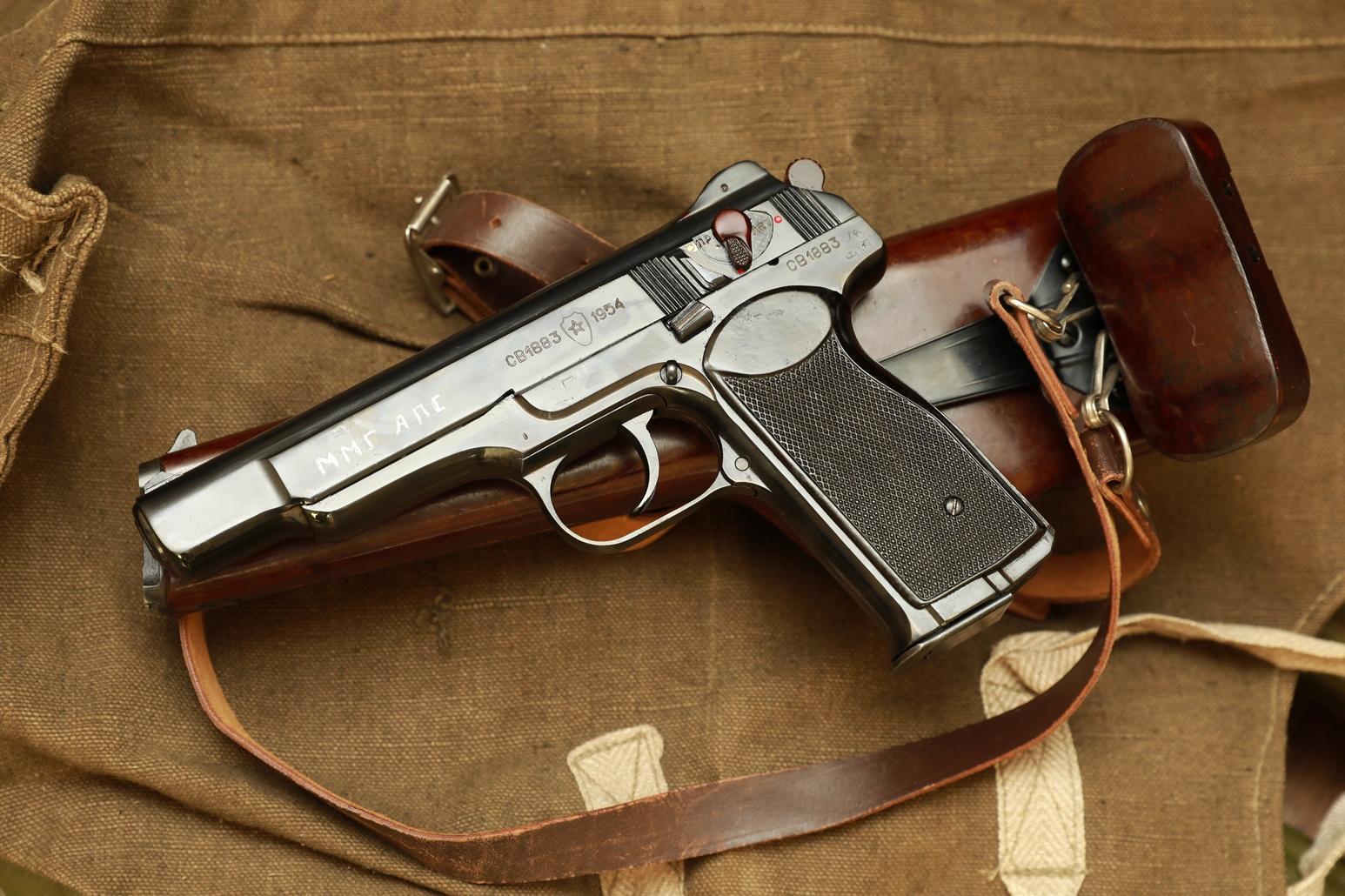 Фото Пистолет АПС Стечкин 1954 года, №СВ1883