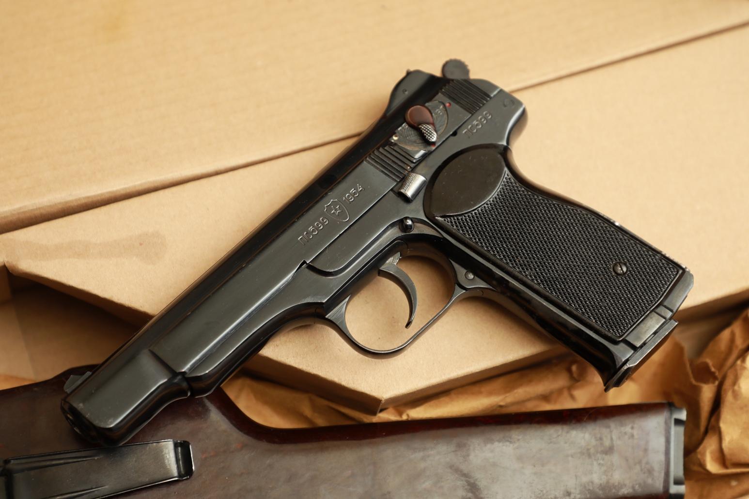Охолощенный пистолет Стечкина 1954 год, №ПС599