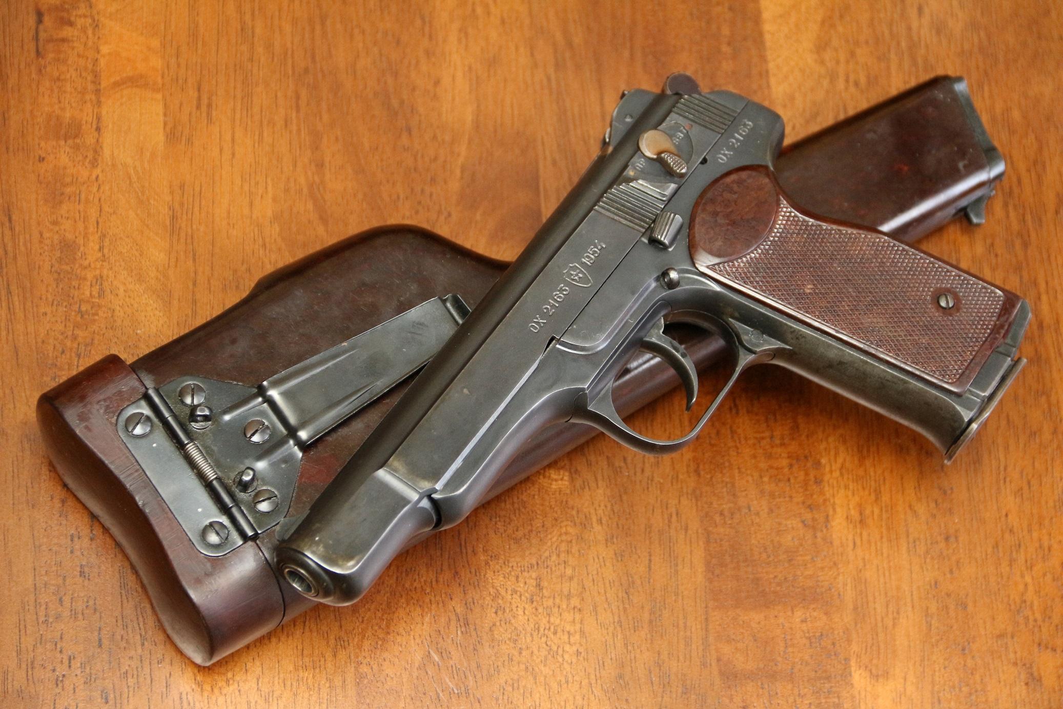 Фото Пистолет Стечкина АПС 1954 год, №ОХ2163