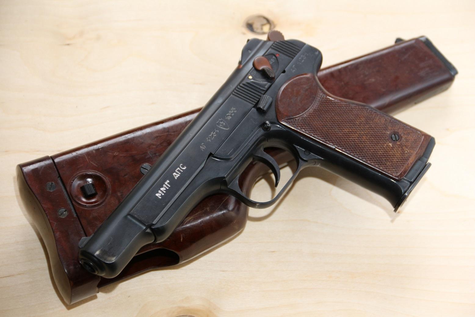 Фото Пистолет АПС Стечкин 1955 года, №АГ1231