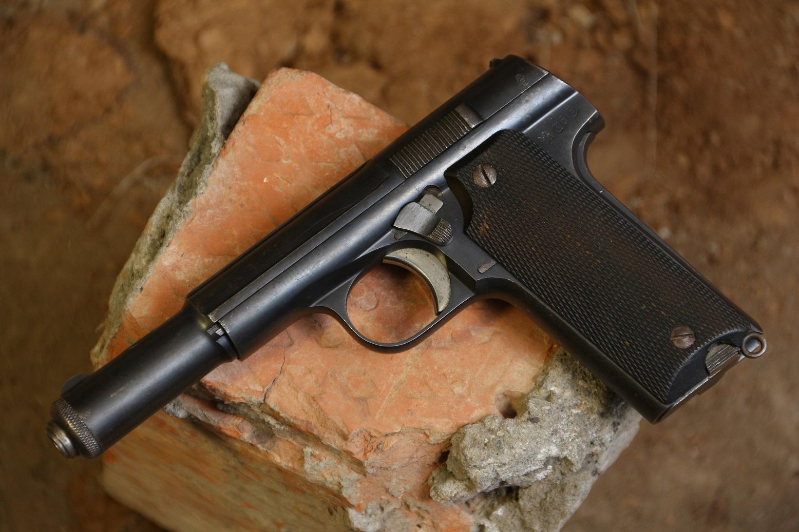 Пистолет Astra 600 #4821, выпуск для нацистской Германии