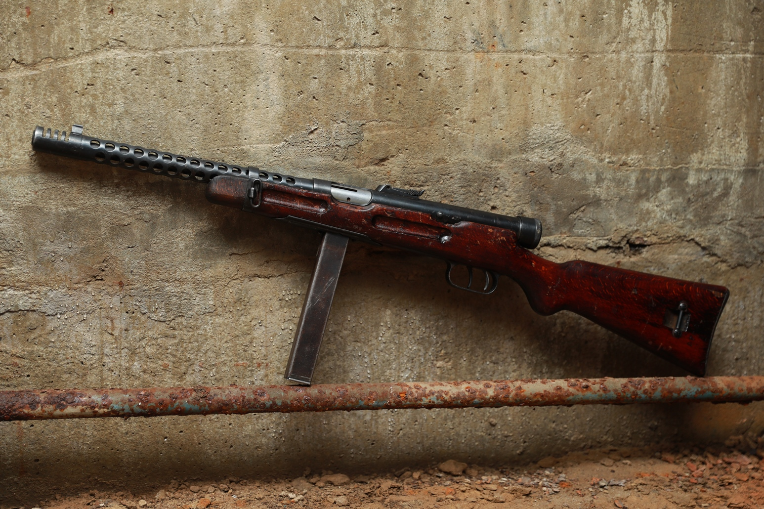 Пистолет-пулемет Beretta 38A #5025