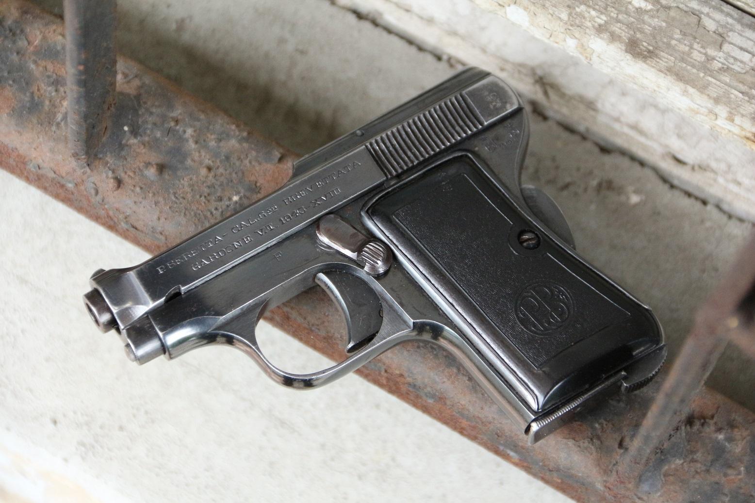 Фото Жилетный пистолет Beretta m418 #628845, 1940 год
