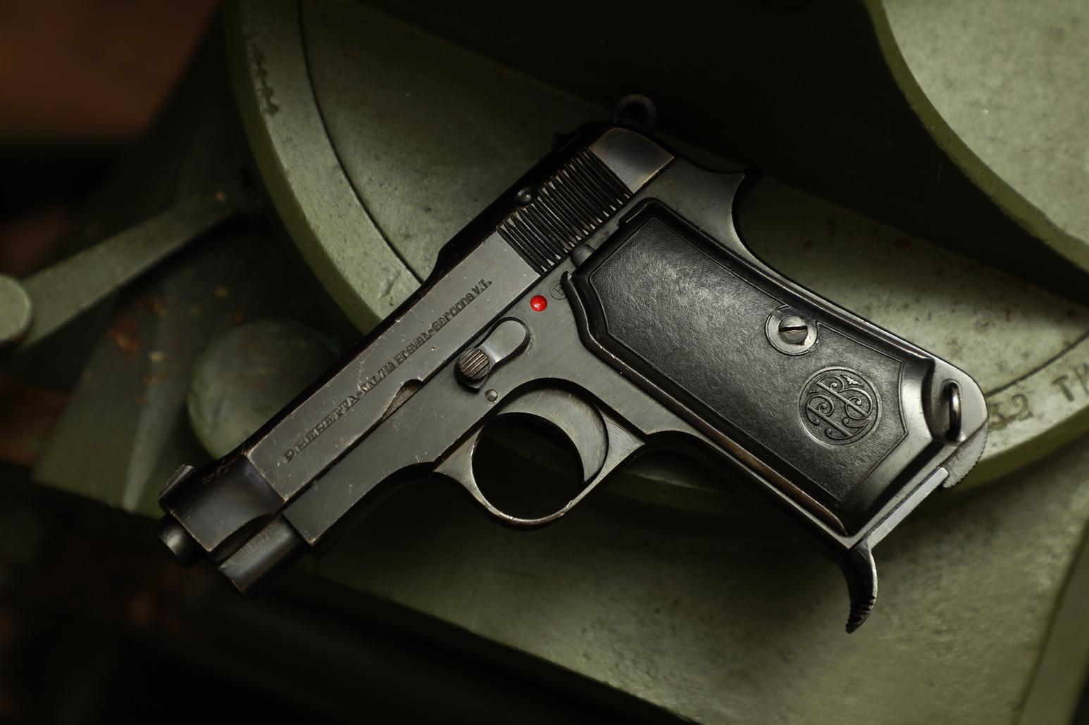 Фото Охолощенный пистолет Beretta M35 #749633