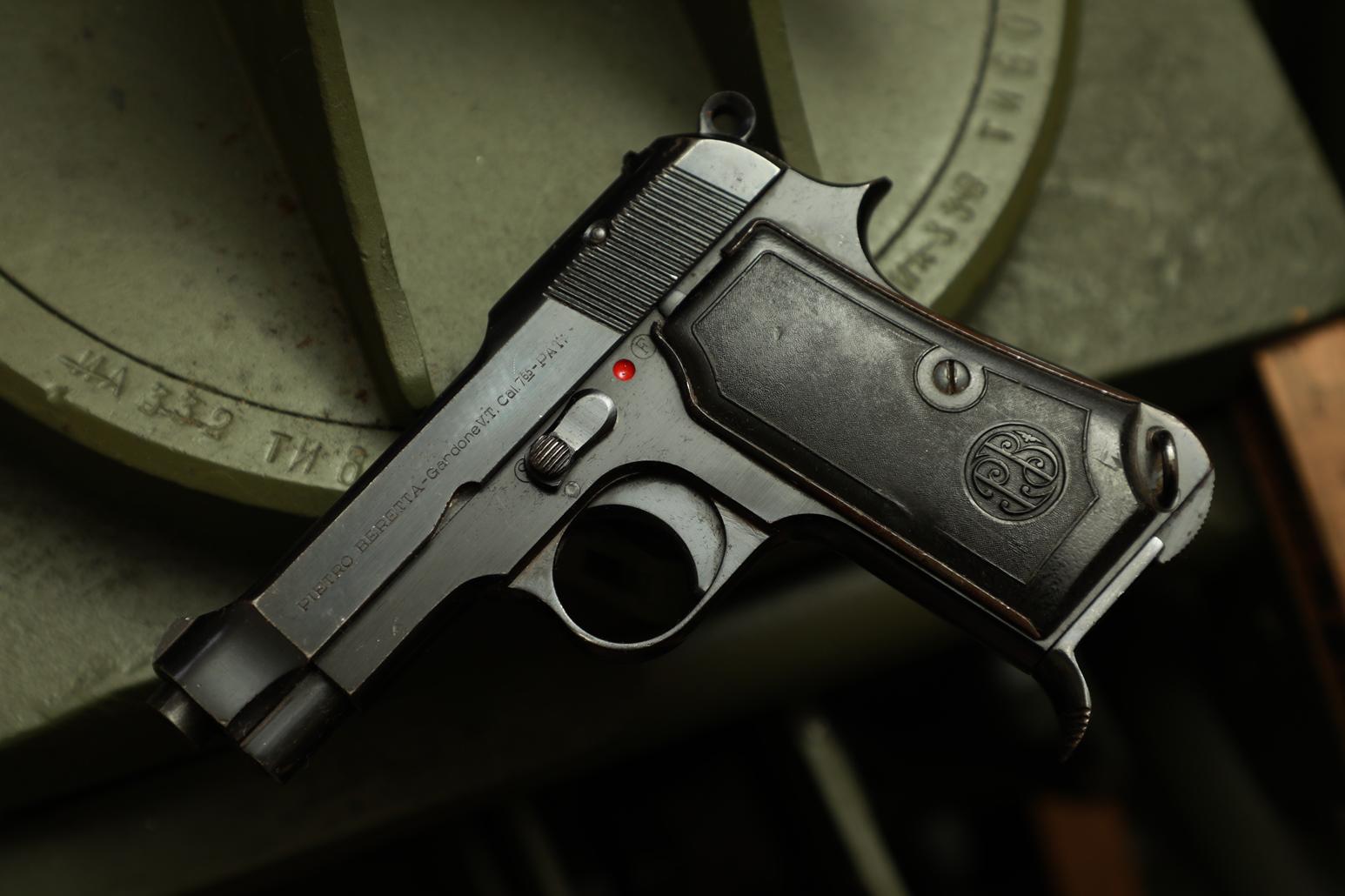 Фото Охолощенный пистолет Beretta M35 #834789