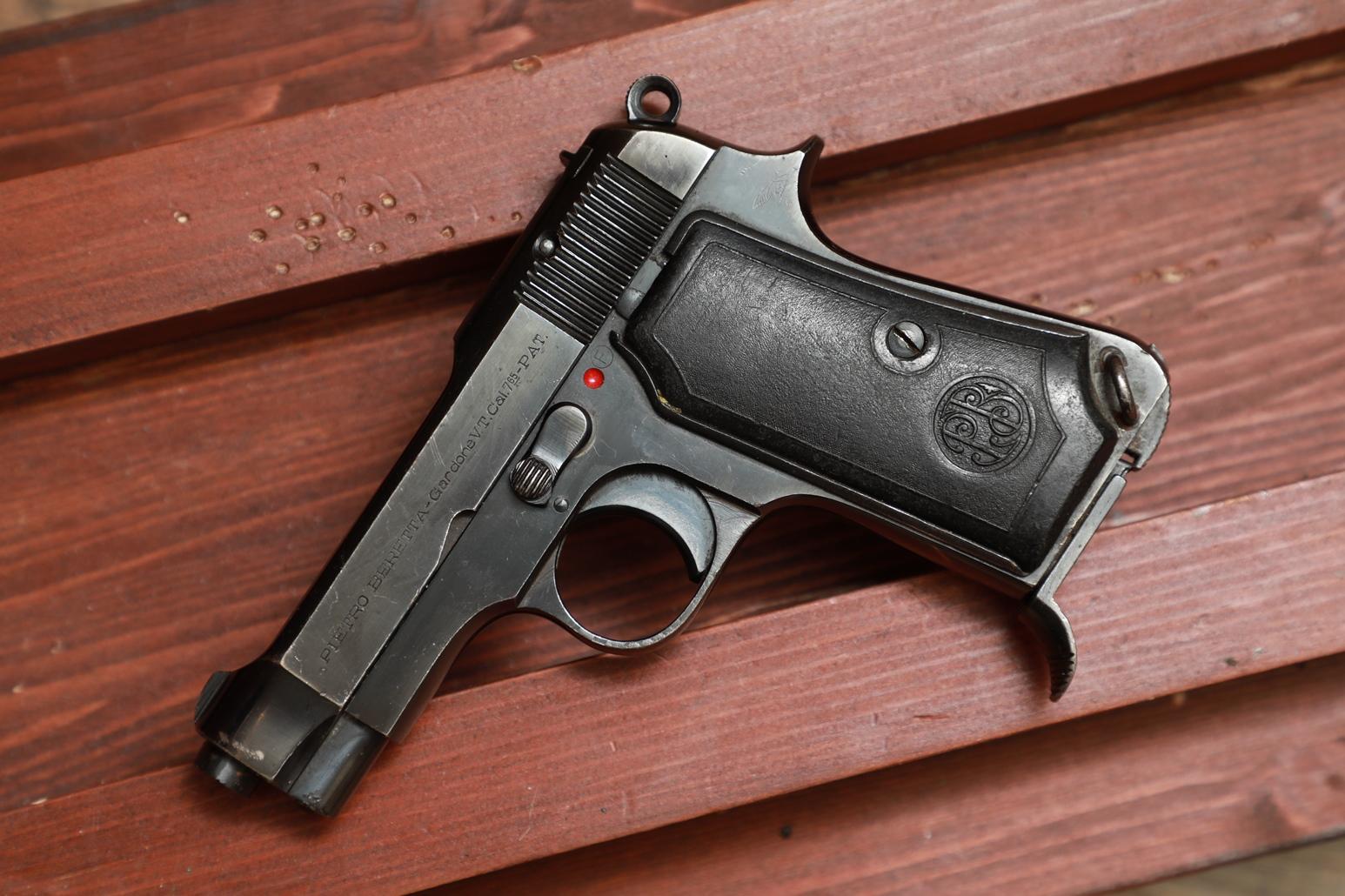 Фото Охолощенный пистолет Beretta M35 #816140