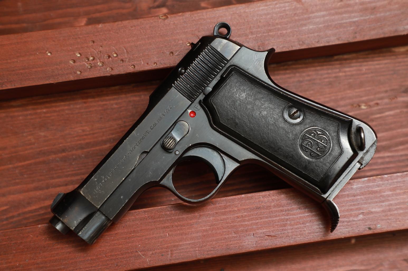 Фото Охолощенный пистолет Beretta M35 #810113