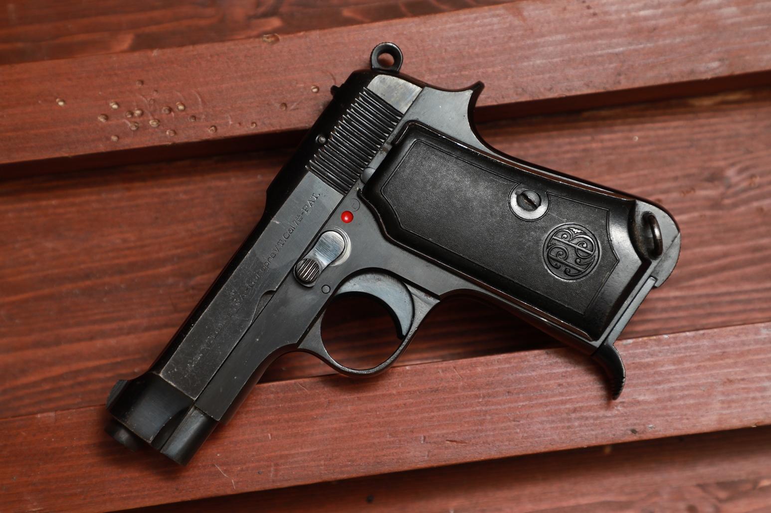 Фото Охолощенный пистолет Beretta M35 #821264