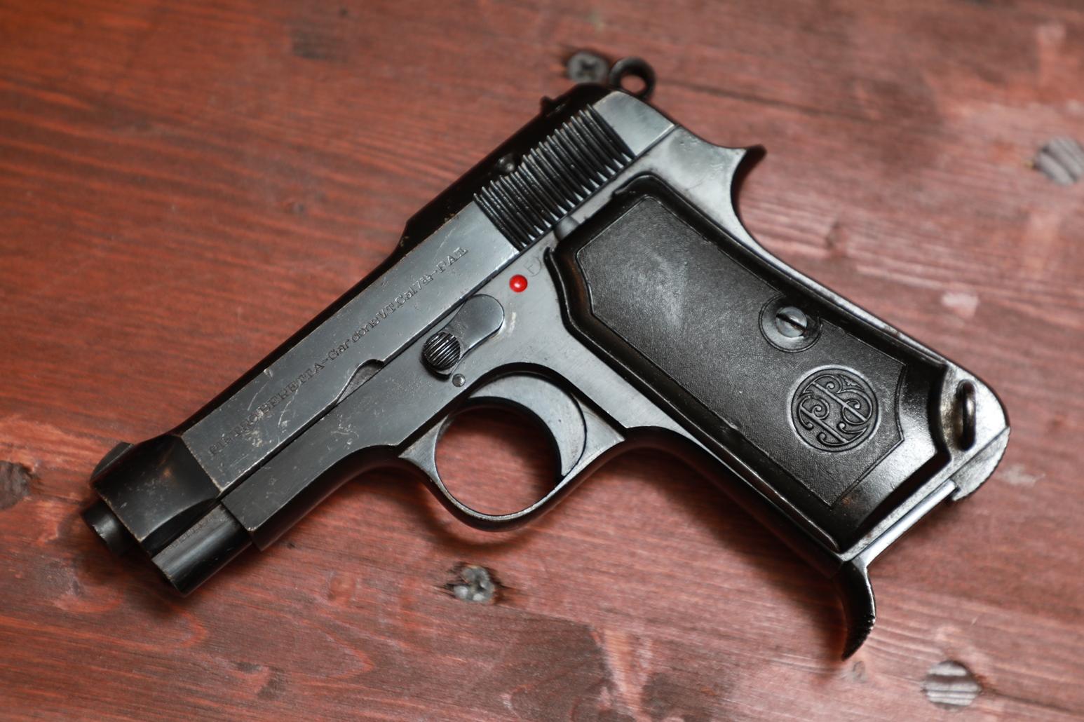 Охолощенный пистолет Beretta M35 #810289