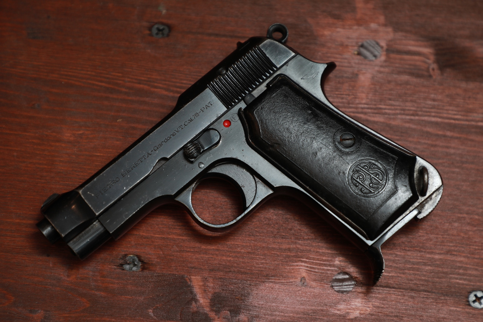 Охолощенный пистолет Beretta M35 #819688