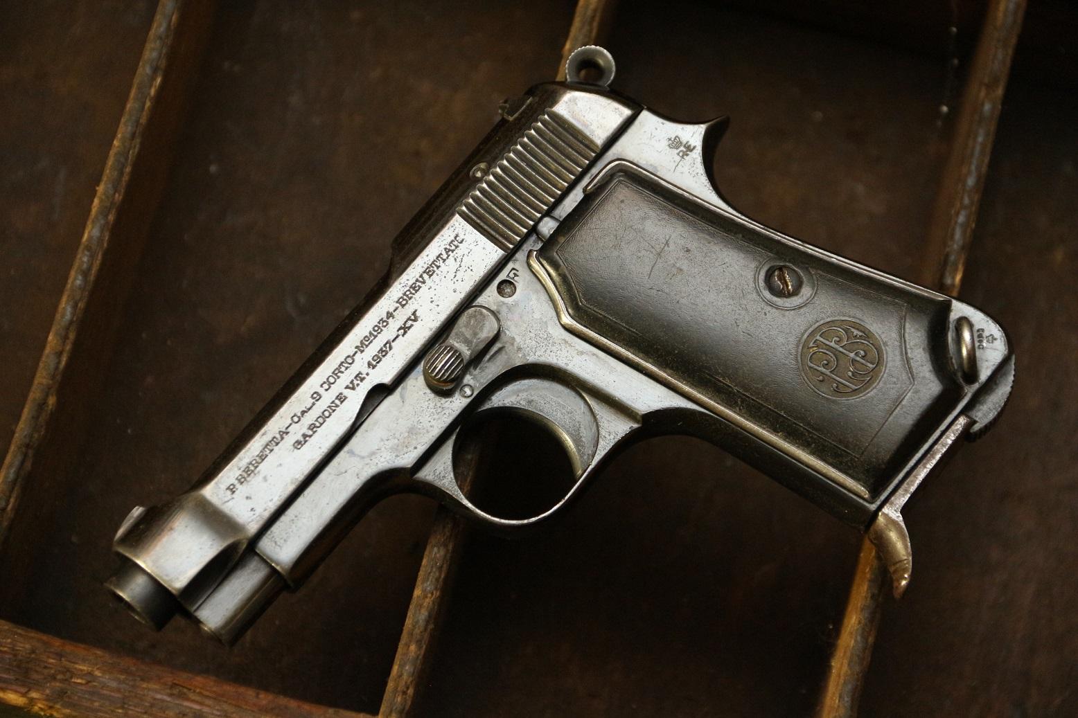 Фото Beretta m1934 #578383, 1937 год