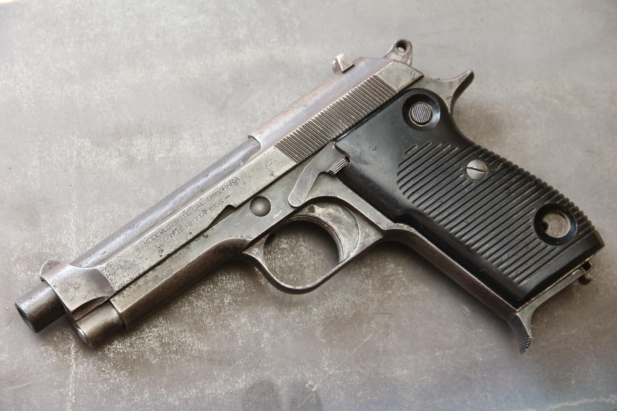 Фото Пистолет Beretta M1951 #E06722, редкость
