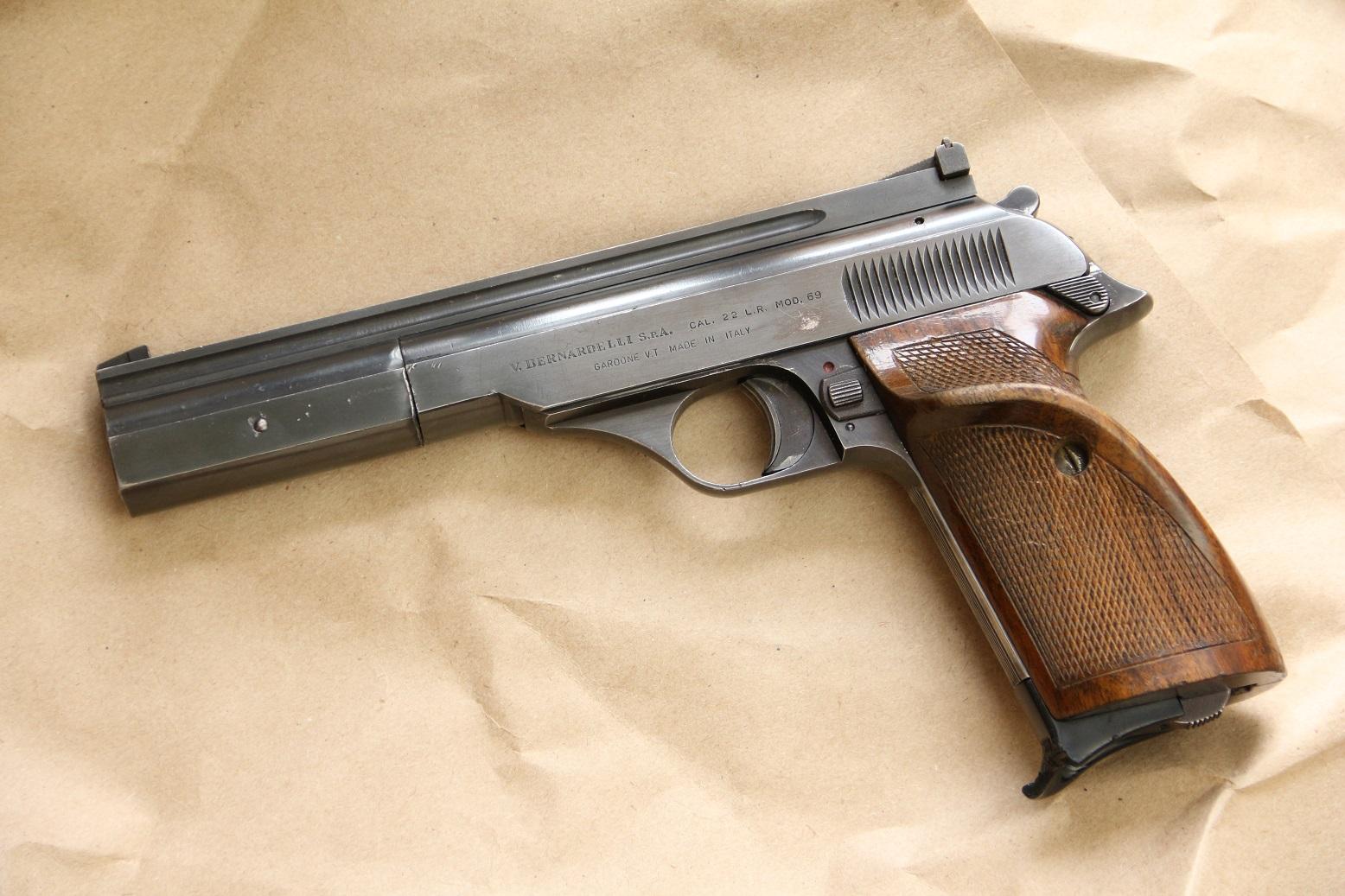 Фото Спортивный пистолет Bernardelli model 69