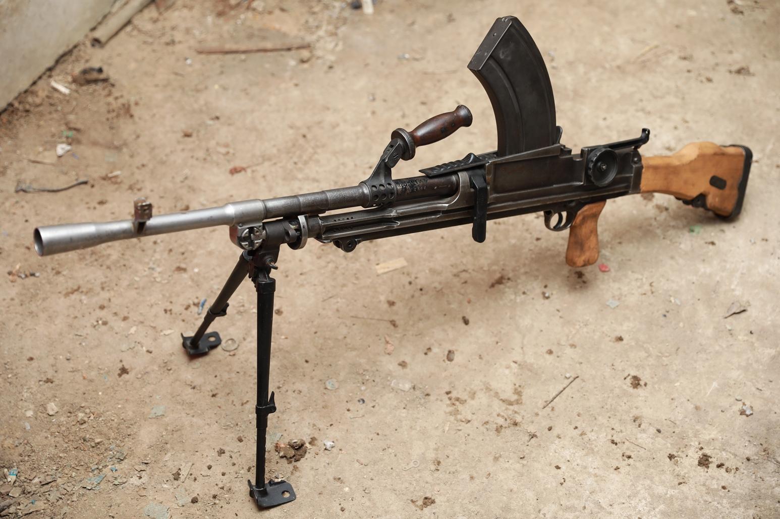 Ручной английский пулемет Bren MK.1 #5T.9533, 1943 год