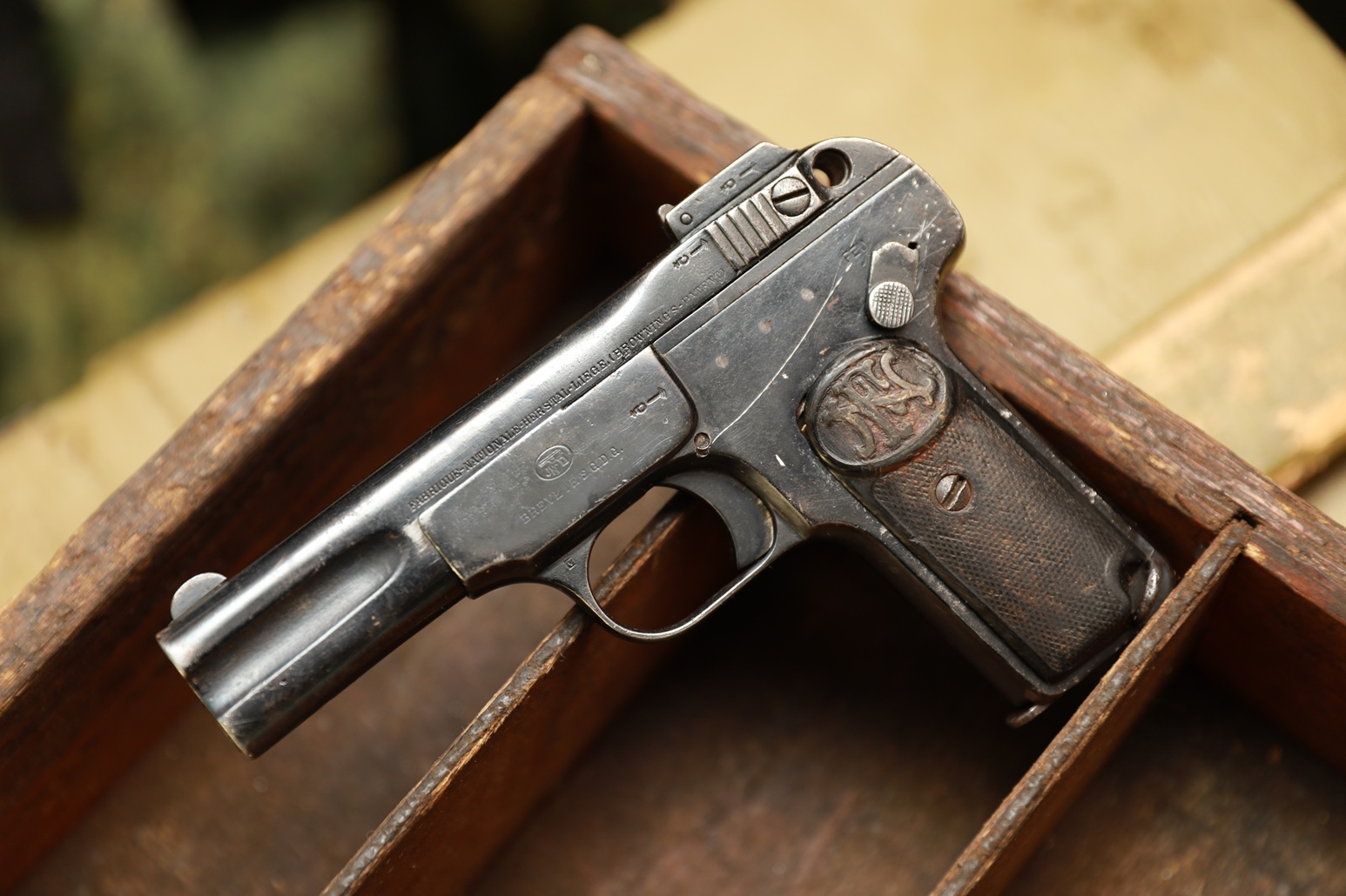 Пистолет Browning FN1900 #44766, очень бюджетно