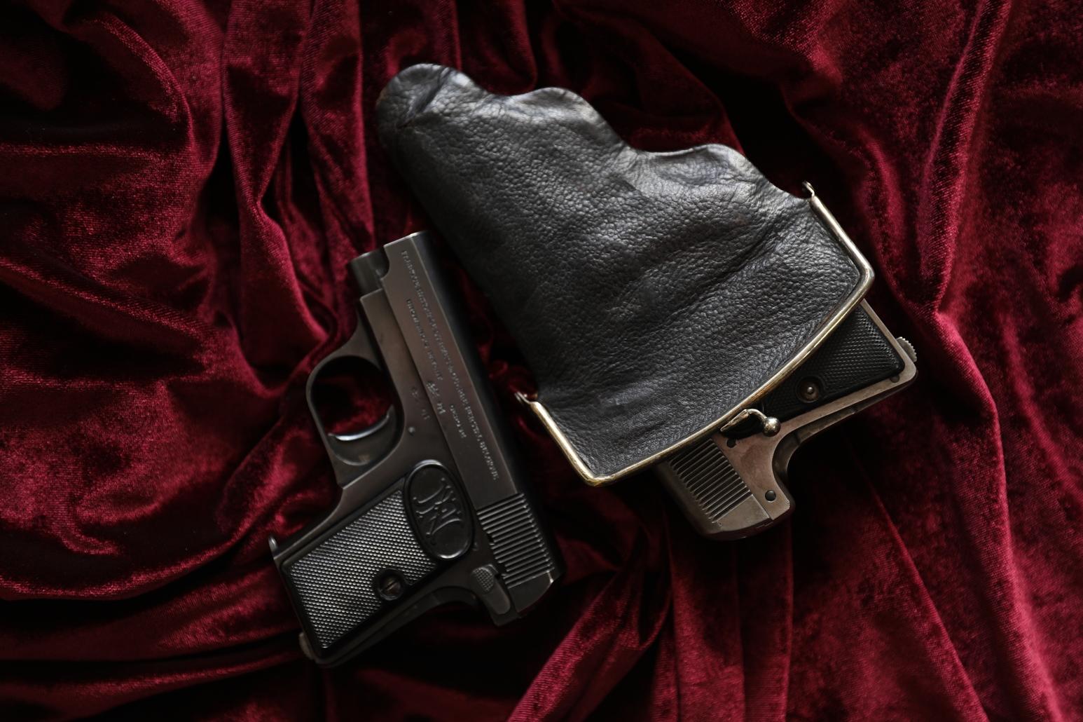 Фото Пистолет Browning FN1906 #201849, 1910 год, «Офицерская Стрелковая Школа РИА»