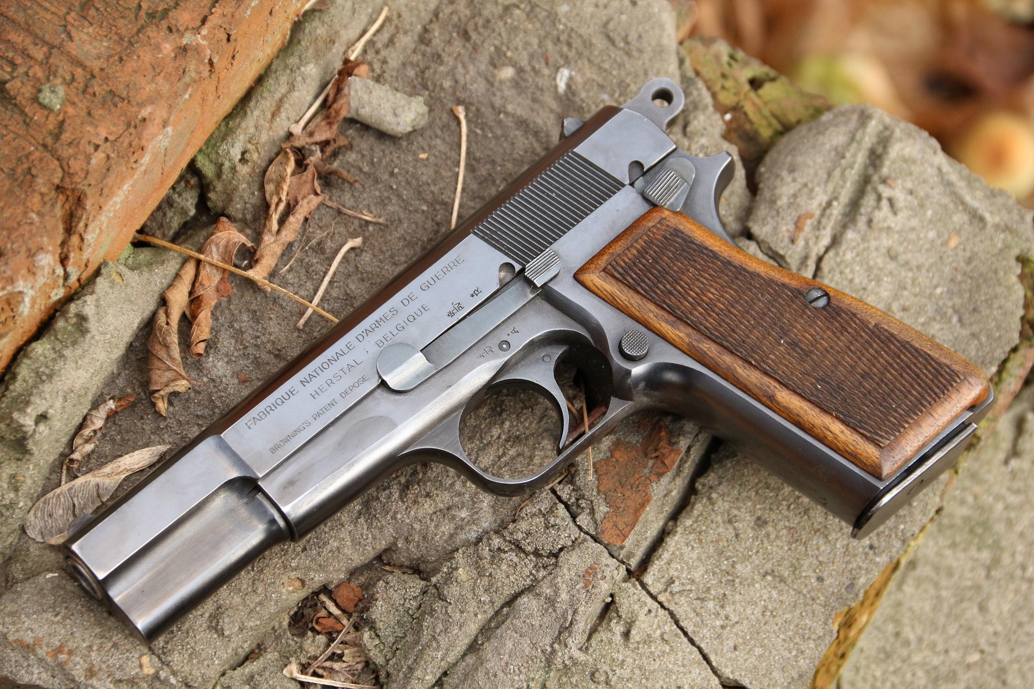 Фото Пистолет Browning High Power #52311, довоенный выпуск