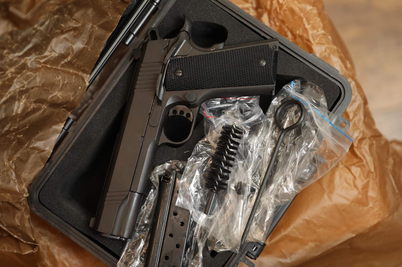 Фото Охолощенный пистолет Colt 1911 Norinco #18191038, ТЕХКРИМ