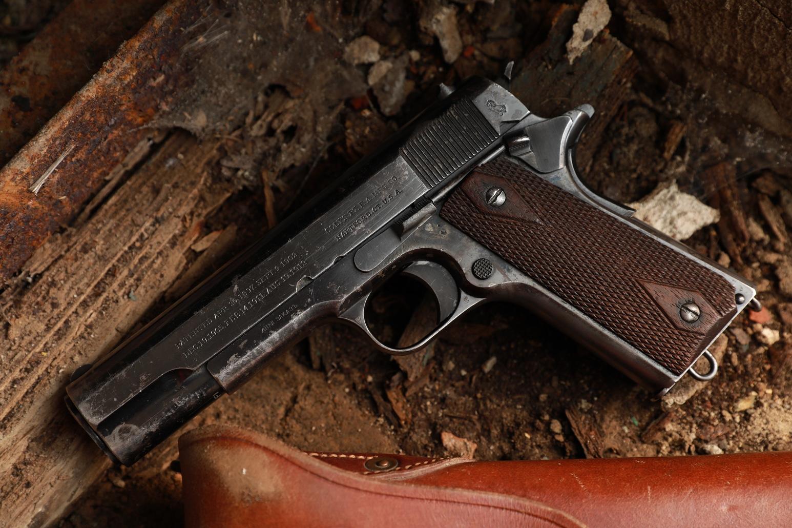 Пистолет Colt 1911 #51977 АНГЛ. ЗАКАЗЪ