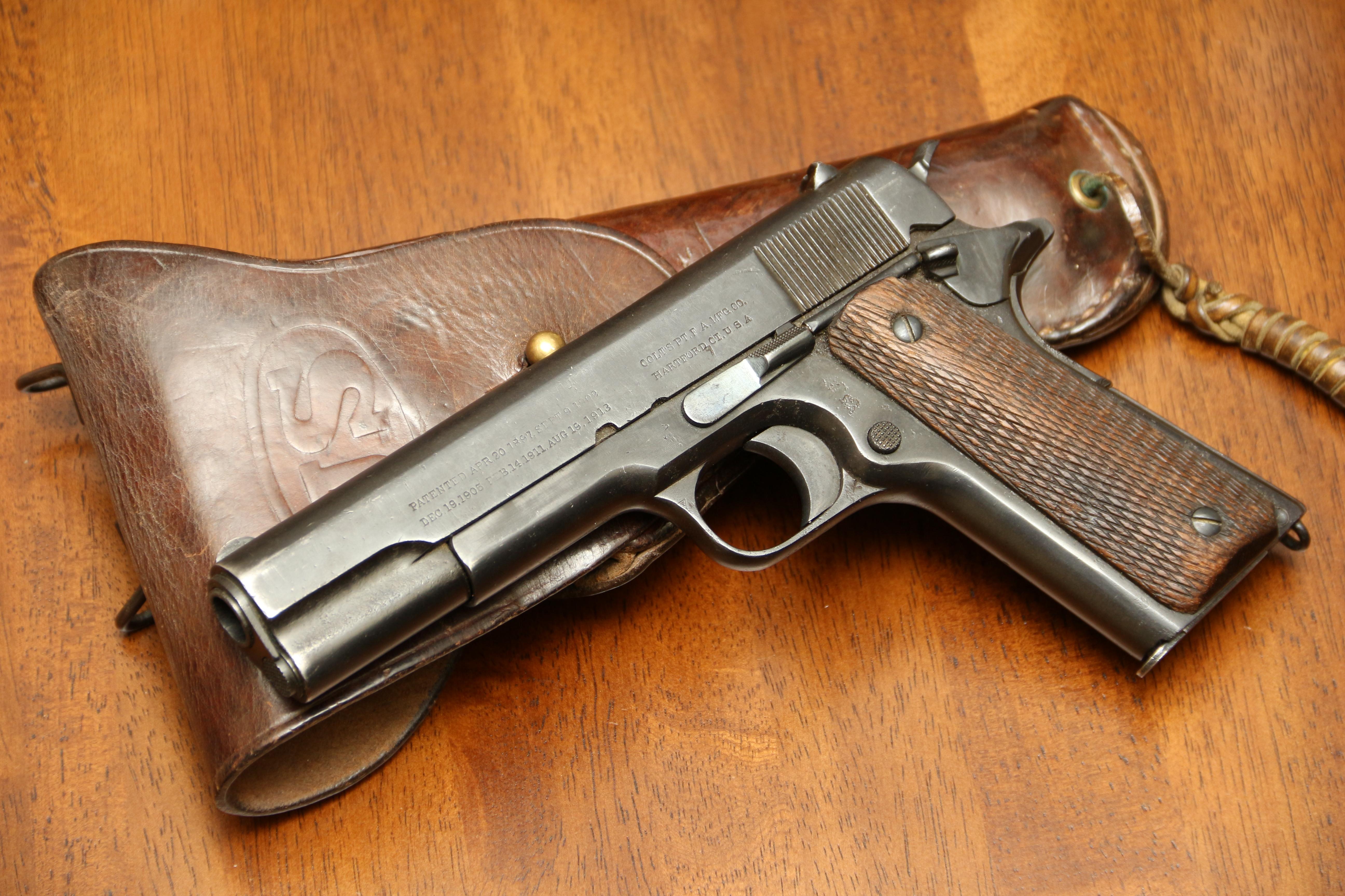 Фото Colt 1911, №79289, русский заказ царского периода