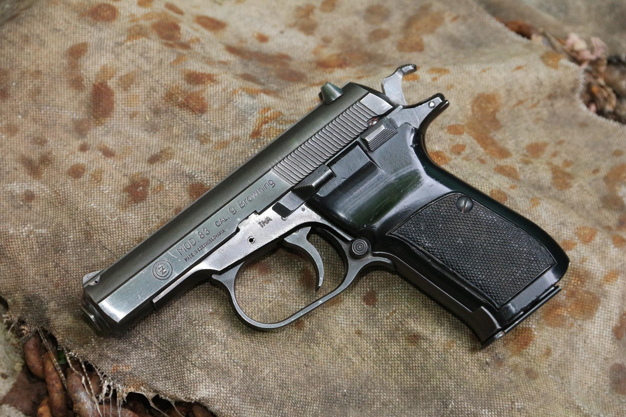 Фото Пистолет CZ mod. 83 cal. 9 Browning #17466