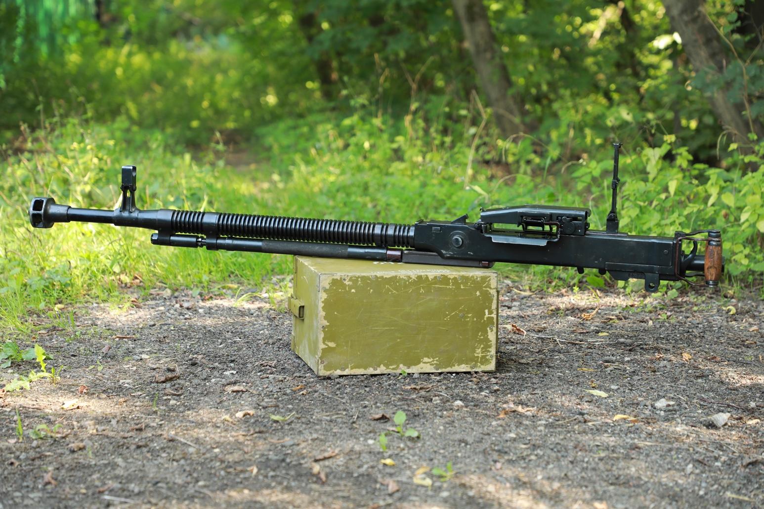 Пулемет ДШКМ 1970 года №Я621