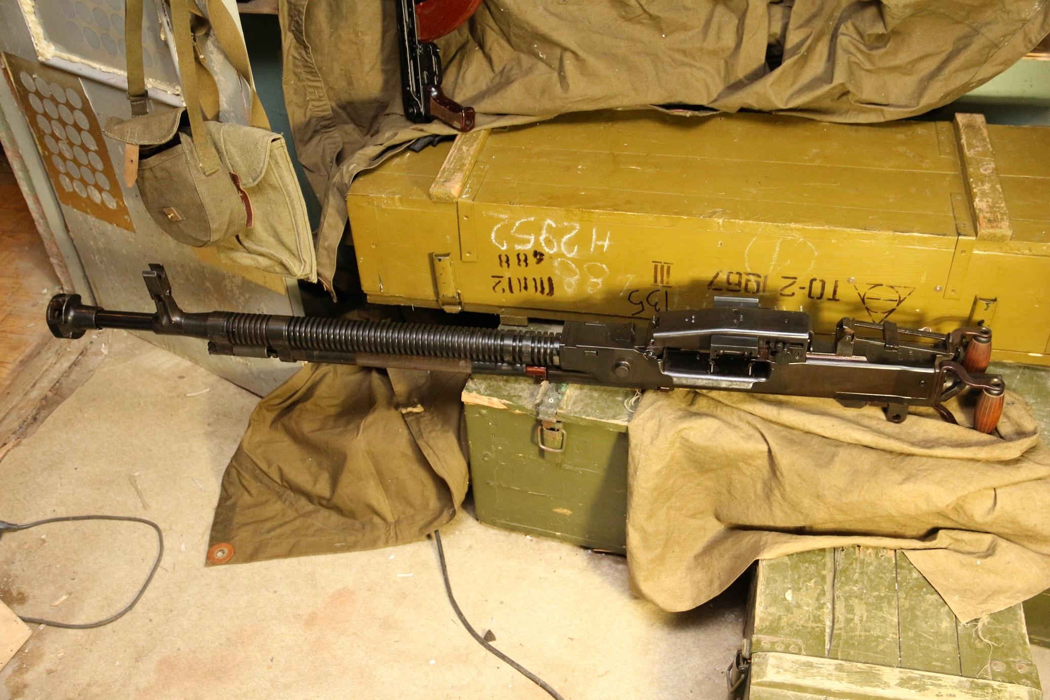 Пулемет ДШКМ 1973 года №Я170, коллекционное состояние