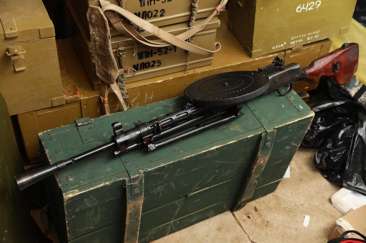 Охолощенный пулемет ДП-27 1943 года, №СГ288