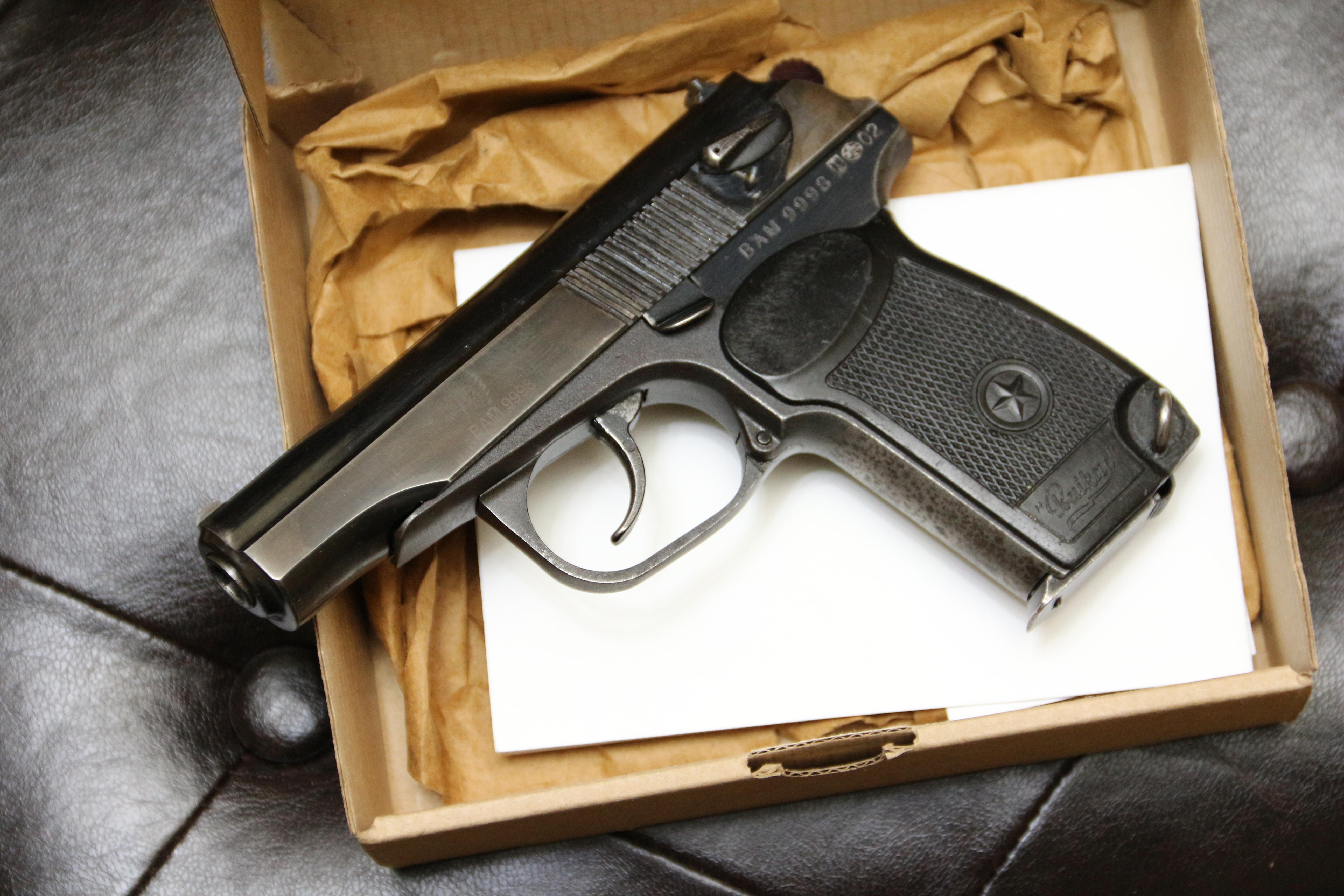 Фото Охолощенный пистолет ИЖ-71, №9998