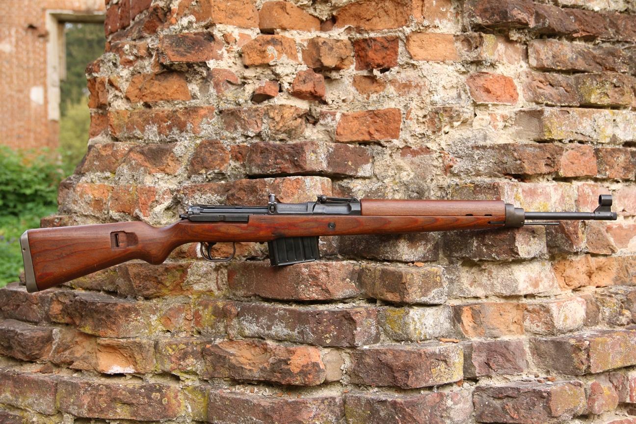 Gewehr 43 AC44 #7411c, 1944 год, завод Вальтер