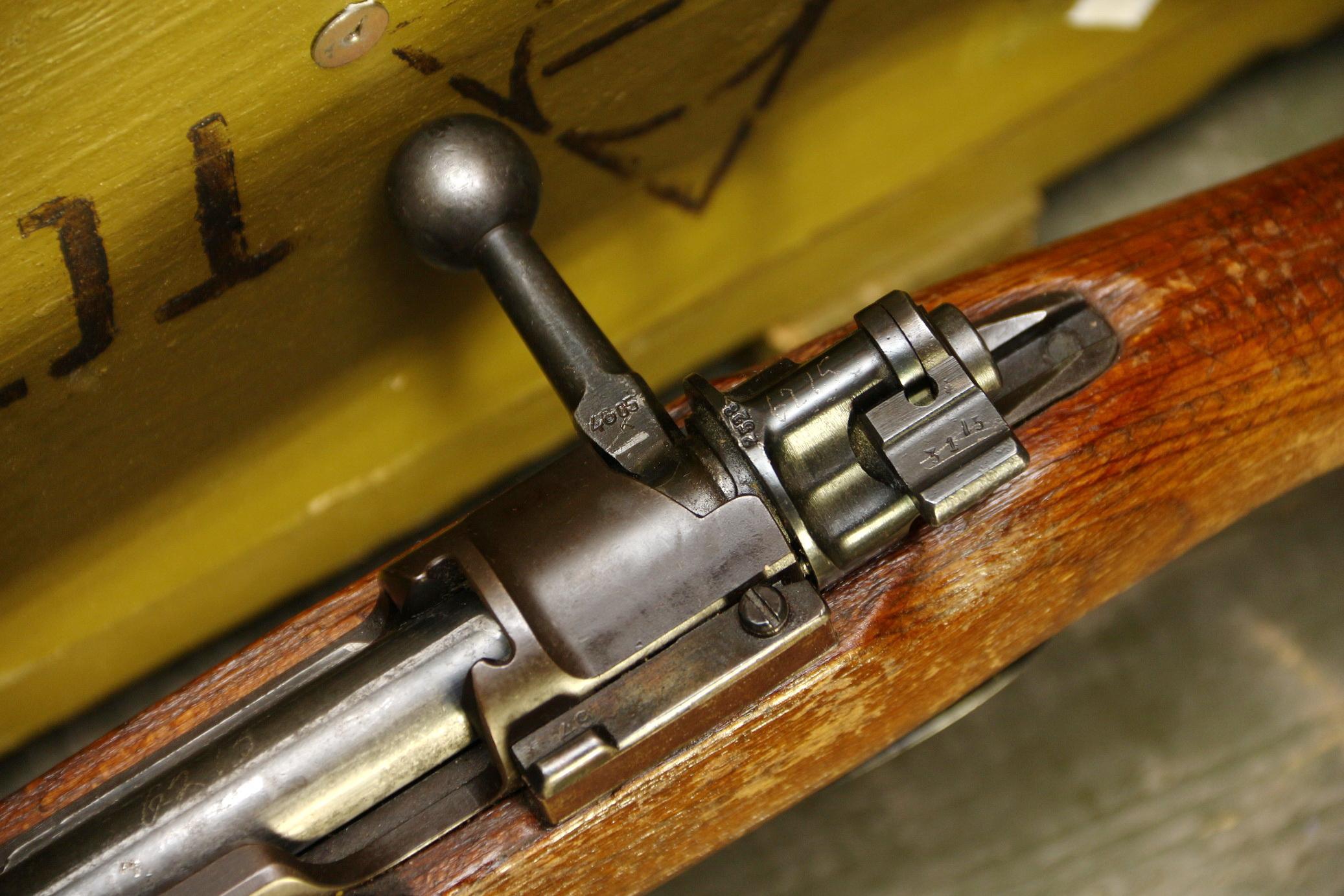 Фото Mauser K98, 1937 год, №6215, завод S/147 S/147 J.P. Sauer & Sohn, Suhl
