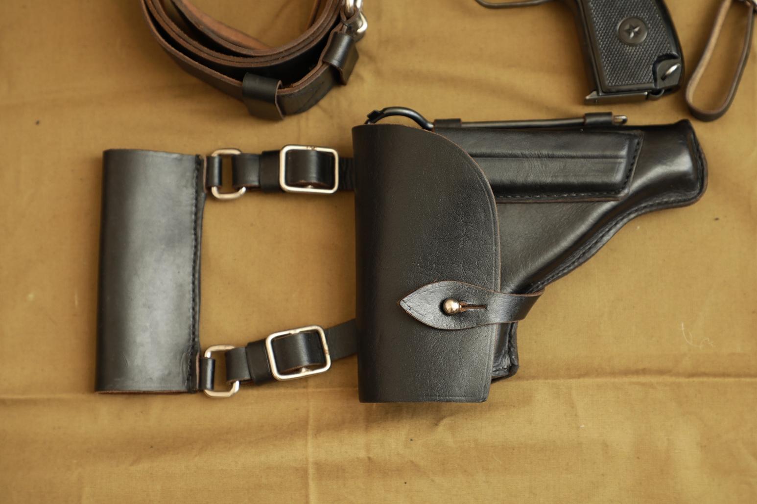 Коллекционный комплект к пистолету Макарова, 1953 год, склад