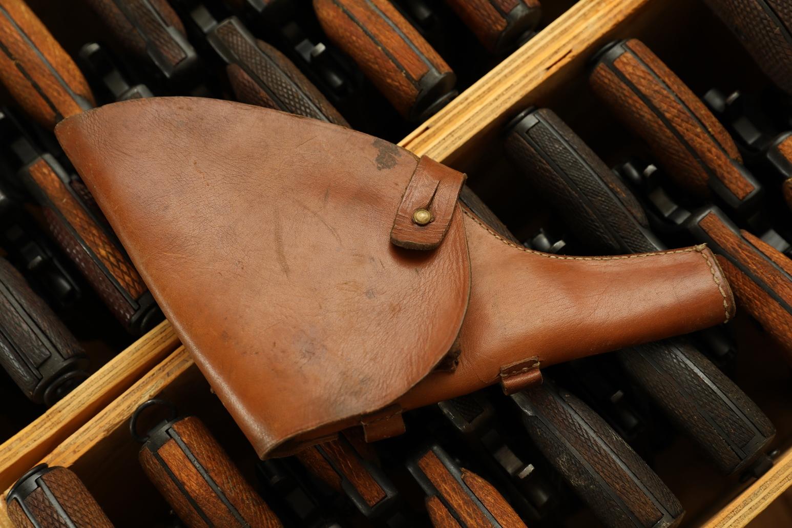 Царская кобура для револьвера Наган, склад