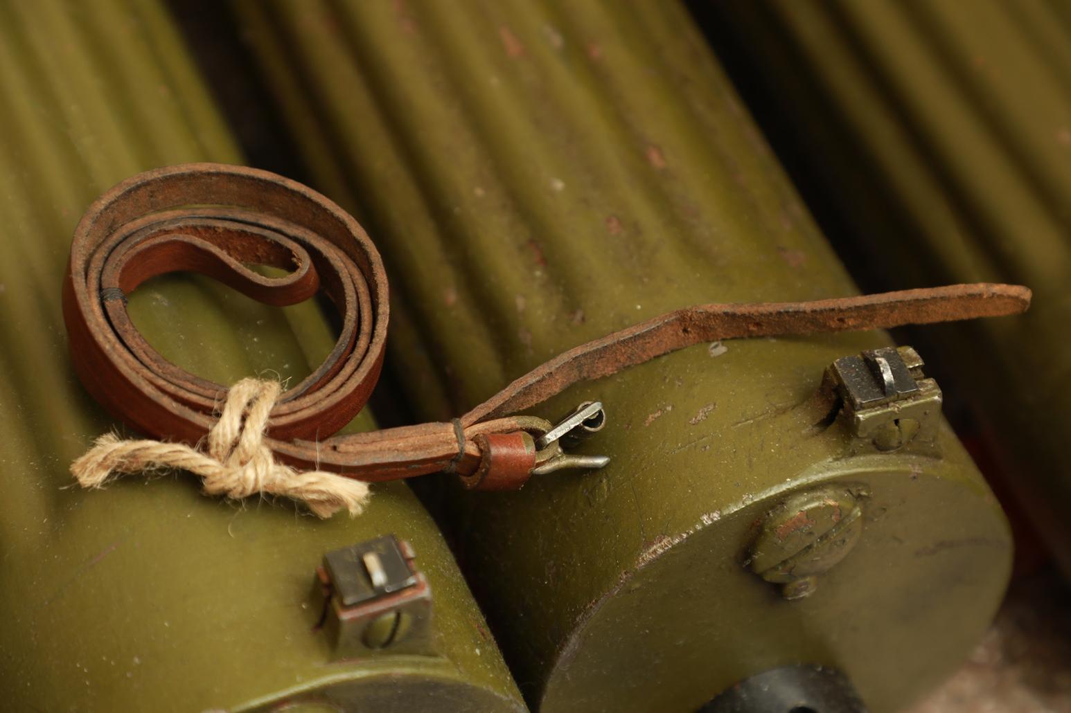 Кожаный тренчик к пистолету ТТ №3, военный выпуск