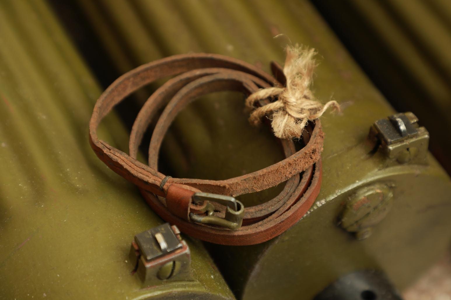 Фото Кожаный тренчик к пистолету ТТ №4, военный выпуск