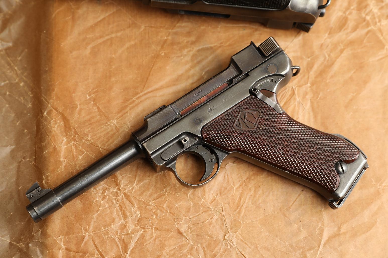 Финский пистолет Lahti L-35 #4377