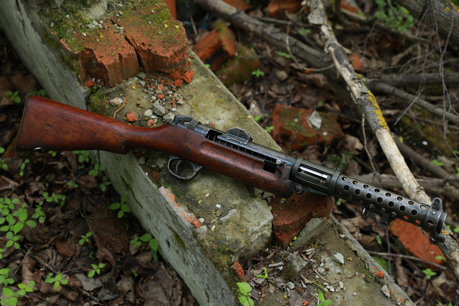 Пистолет-пулемет Lanchester MK.1 #60746, 1943 год