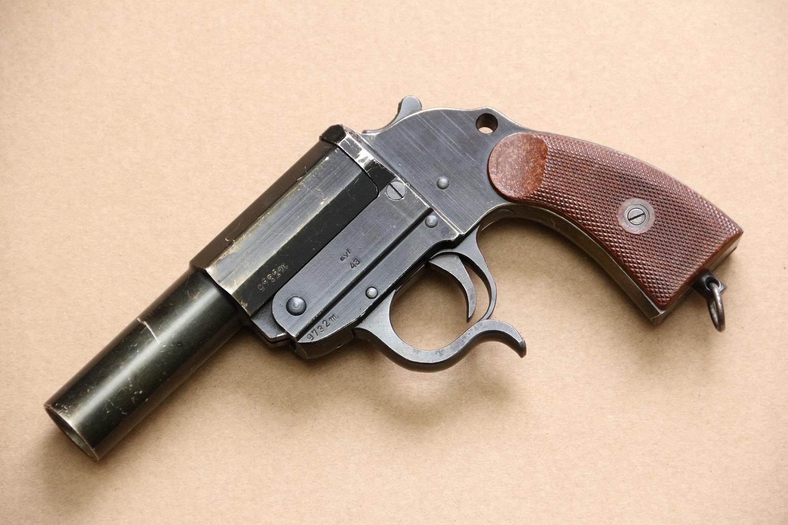 Ракетница Walther LP-34 #9732m, ayf43, 1943 год