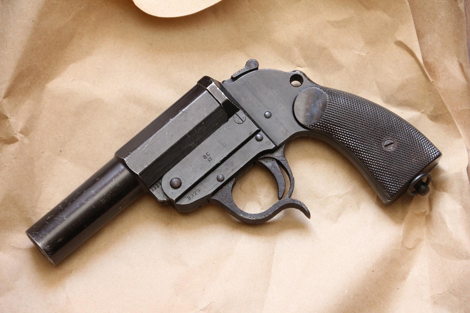 Ракетница Walther LP-34 #8329, 1941 год