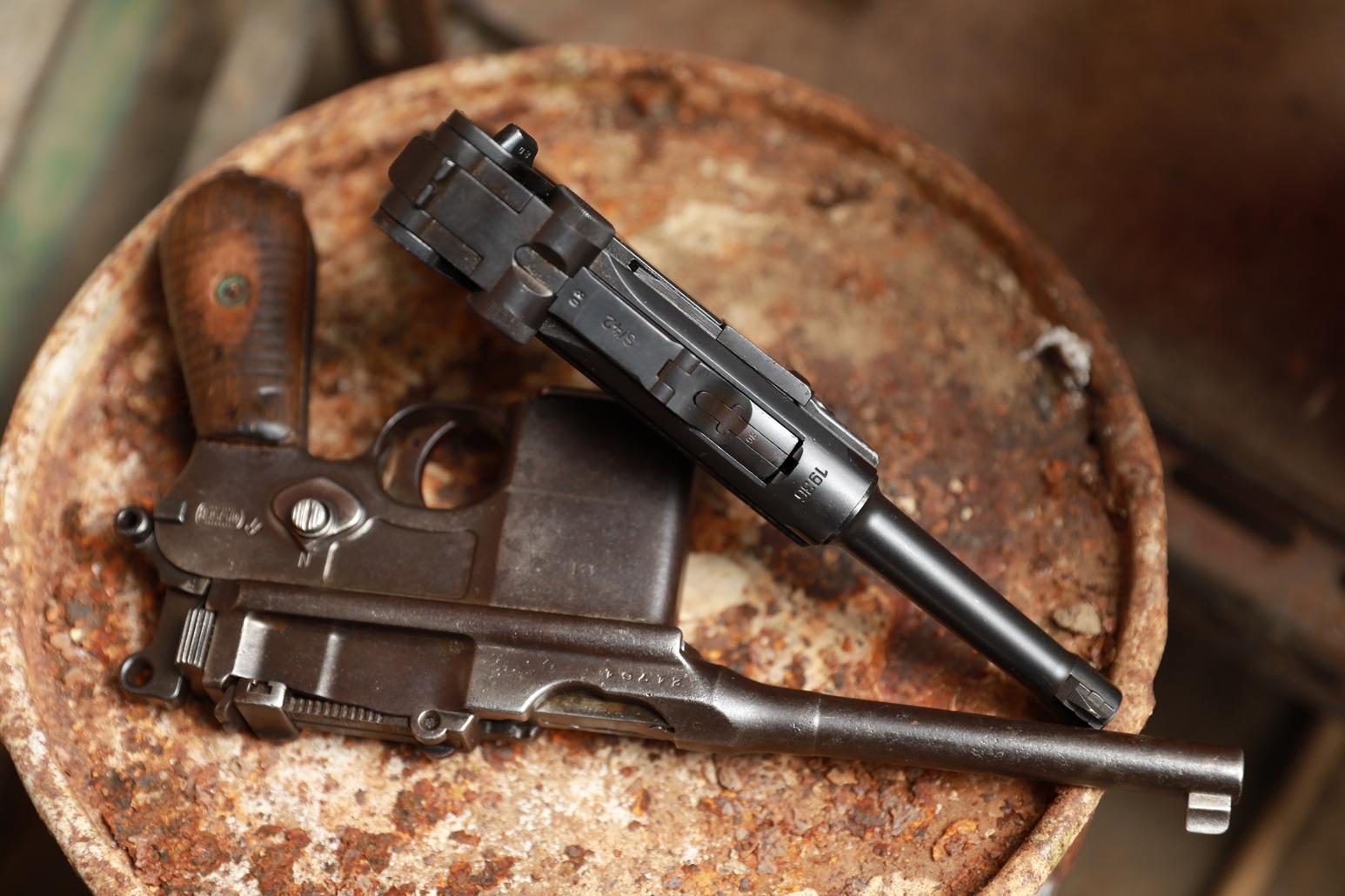 Фото Пистолет Luger P08 1936 года, №5380