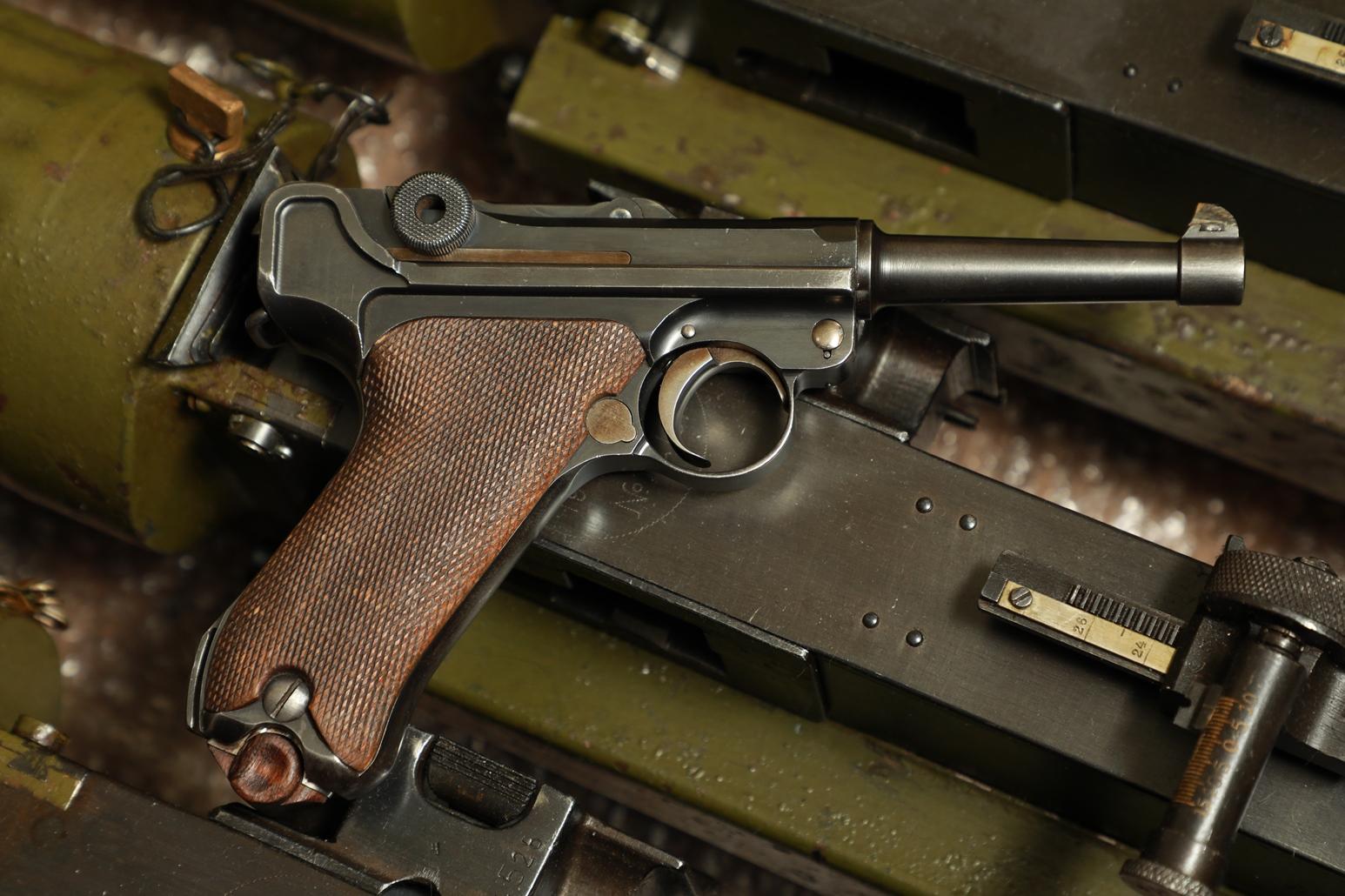 Пистолет Luger P08 Люгер Парабеллум P-08 #8825, коммерческая модель