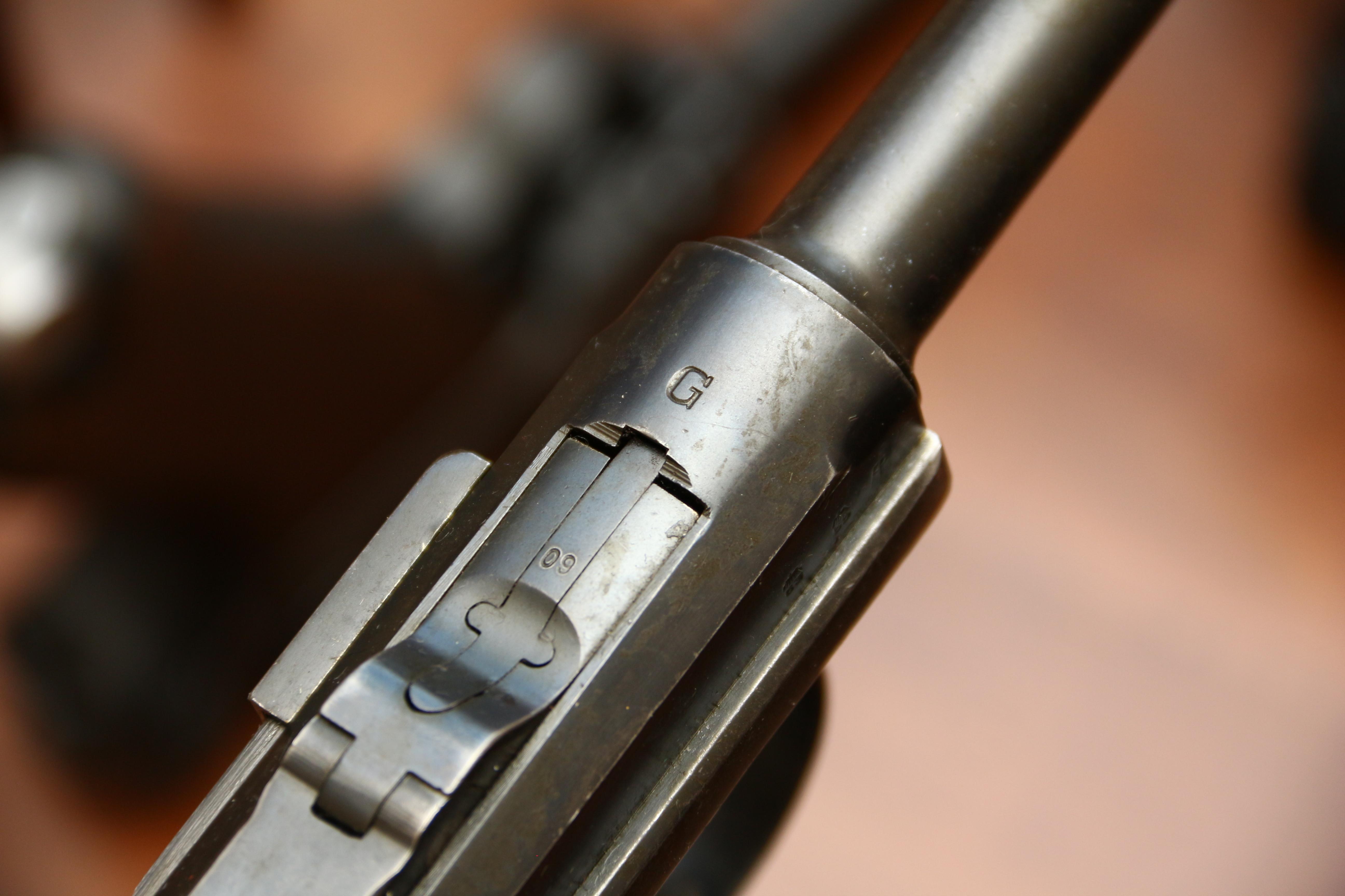 Фото Пистолет Люгер Парабеллум P-08 #8609 1935 года с обозначением «G»