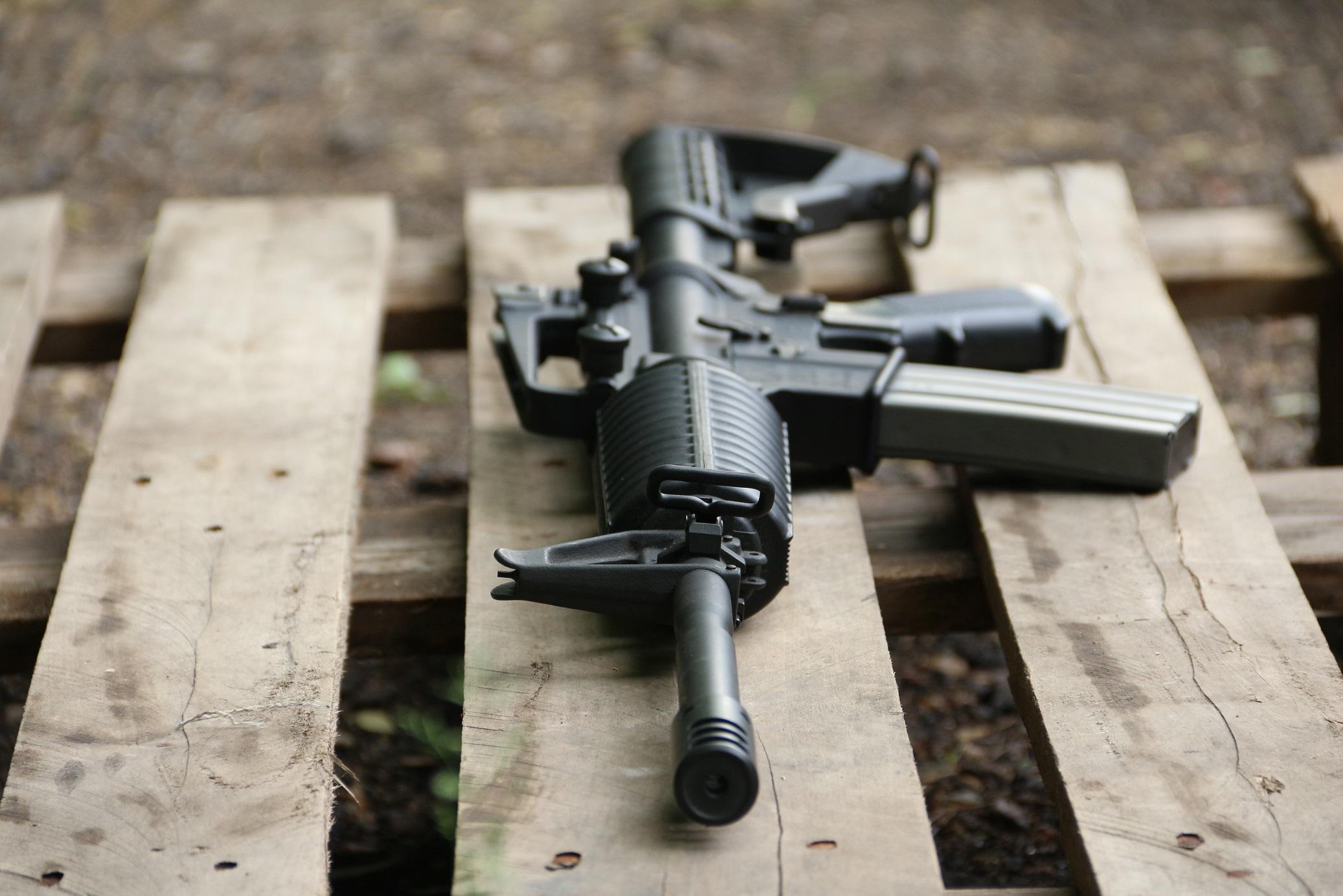 Фото Американская винтовка Colt M4 Carbine #405021, редкость