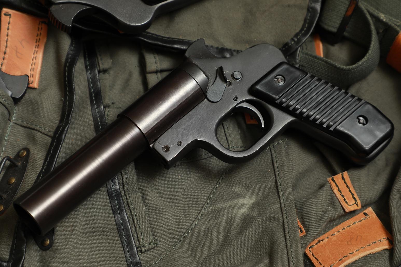 Сигнальный пистолет М57 №32021, Югославия