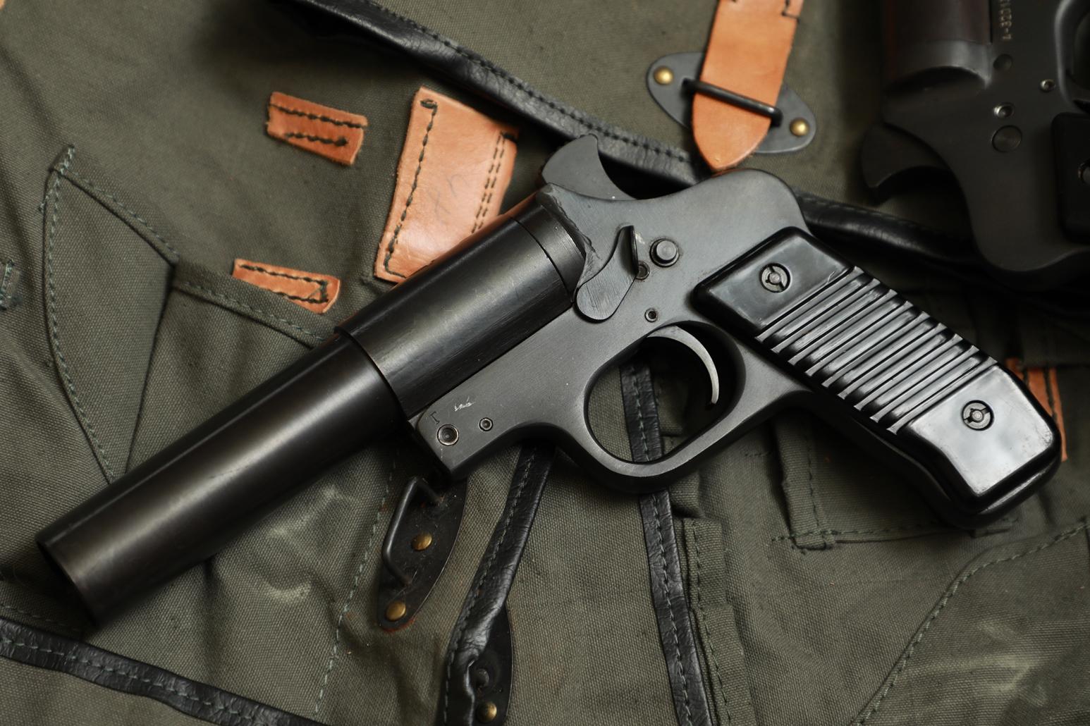 Сигнальный пистолет М57 №32022, Югославия