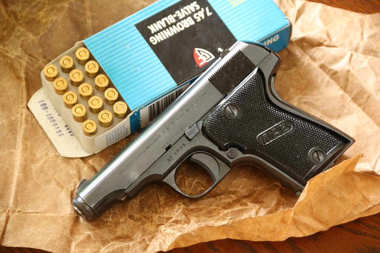 Фото Охолощенный пистолет MAB-C #430615